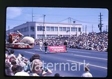 1963 kodachrome Photo slide Rose Festival Parade  Portland OR #11 moby dick