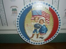 Bethany Lowe-American Tissue Paper Roset-Three Cheers For Red.White/Blue-New