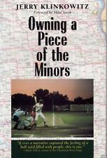 Owning a Piece of the Minors (Writing Baseball)-ExLibrary