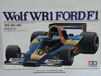 TAMIYA 1/12 Wolf WR-1 FORD F1 BIG SCALE Model Kit 12024 WR1 1