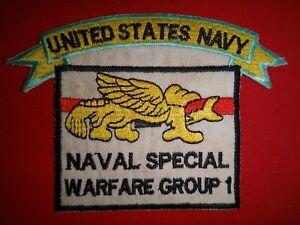 Vietnam War Patch US NAVAL SPECIAL WARFARE GROUP 1
