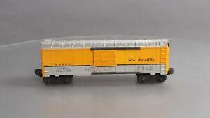 Lionel 6464-650 Vintage O Denver and Rio Grande Boxcar - Type IIB