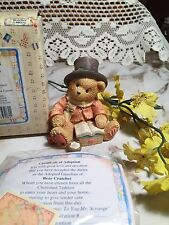 """Cherished Teddies """"Mr Cratchit"""" Beary Christmas to You Mr Scrooge"""" # 617324"""