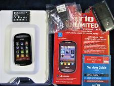 LG 800G - Black (Net10) Smartphone