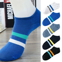 5 Pairs Fashion Women Men Sports Socks Lot Crew Ankle Low Cut Casual Cotton Sock