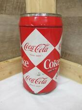 "DA7612 Vintage 8"" Tall Metal Coca-Cola / Coke BANK"