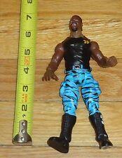 1999 WWF WWE Jakks D Von Dudley TTL Wrestling Figure 3d shirt Blue Camo pants