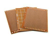 BASETTA MILLEFORI RAMATA 7x9CM circuito piastra sperimentale 70x90 PCB forata cs