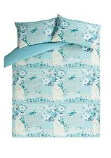 George Home Duck Egg Patchwork Dragonfly Double Duvet Cover 2 Pillowcases