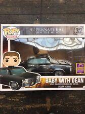 SDCC 2017 Supernatural Dean con Baby Funko Pop! Figura in vinile Corse