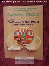 Saturday Review March 20 1976 TRAVELER'S NEW WORLD FRED M. HECHINGER