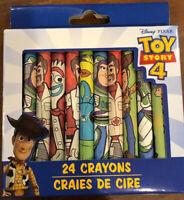 Disney PIXAR Toy Story 4  24 Crayons