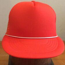 Capital Orange Vintage 80s Mesh Trucker Cap Hat