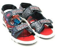 Boys Spiderman Sandals Touch Fasten Summer Holiday Comfortable UK Sizes 8-2