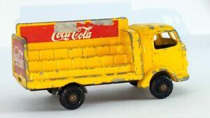KARRIER BANTAM 2 TON COCA COLA ~ Matchbox Lesney 37 B3. Made in England in 1960