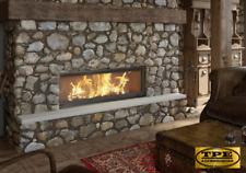 MB 100 - Lift up Door Wood Burning Fireplace insert/cassette Hardwood/Log burner