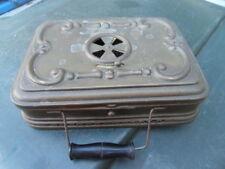 ANTIQUITE ANCIEN RECHAUD EN CUIVRE portable Girodon & Montet Lyon