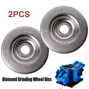 2pcs 50mm Diamond Segment Grinding Wheel Disc Grinder Cup Concrete Stone Cut
