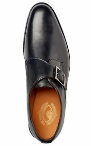 Mens Goodyear Welted Genuine Leather Shoes by Carlos Santana® 1960 Monk