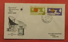 DR WHO 1965 MAURITIUS FDC INTL TELECOMMUNICATION UNION CENTENARY C236198