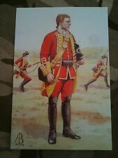 Military Postcard 12th Regiment of Foot Minden 1759  by Alix Baker