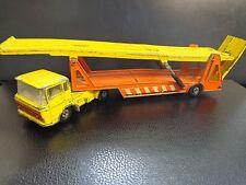 COLLECTABLE VINTAGE 1971 MATCHBOX SUPERKINGS K11 DAF TRANSPORTER.