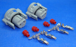2 x YPC500150 - Defender TD5 & TDCi PUMA Electric Window Motor Connectors