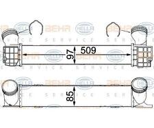 HELLA Intercooler, charger 8ML 376 731-794