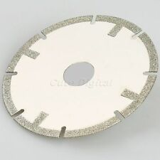 "100mm 4"" Grit 60 Diamond Coated Saw Blade Polishing Cutting Wheel Disc Coarse"