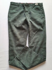 TOMMY HILFIGER Pantalon jeans homme Denton Chino Thym Taille 36/32 NOUVEAU