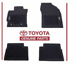 Toyota Scion Corolla iM 2016 2017 All Weather Floor Mats AWM Genuine OEM OE