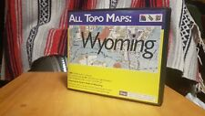 iGage All Topo Maps Surveying Topographic Software, Wyoming v6
