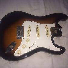 Kramer KS-400 Sunburst Strat Stratocaster style Loaded Electric Guitar Body