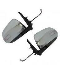 TOYOTA HI-LUX 2012- ON ELECTRIC DOOR WING MIRROR CHROME WITH INDICATOR   1 X PAI