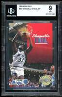 Shaquille O'neal Rookie Card 1992-93 Skybox #382 BGS 9