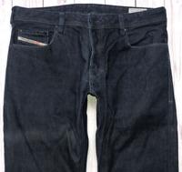Mens DIESEL Zatiny Jeans W34 L30 Blue Bootcut Wash 0088Z