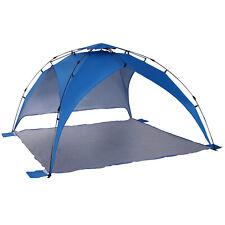 Outsunny  Tente de plage abri de plage XXL pliable dim. 2,47L x 2,47l x 1,45H m