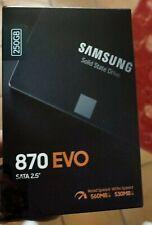 """Samsung 870 EVO 250GB 2,5"""" SATA III SSD Interno (MZ-77E250B/EU)"""