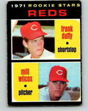 (HCW) 1971 O-Pee-Chee MLB #164 Duffy/Wilcox RC Rookie Cincinnati RedsV1094