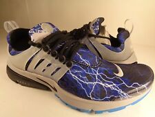 Nike Air Presto QS Black Zen Grey Blue Lightning SZ M SZ 10-11 (789870-004)