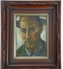 Self-Portrait 9 by 7 Oil Painting-1930s/40s-Vincent Canade-1879-1961