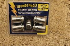 """Thunder Bolt Security Lug Nuts 7/16"""" x 20 Thread Short Shank Mag 19906"""
