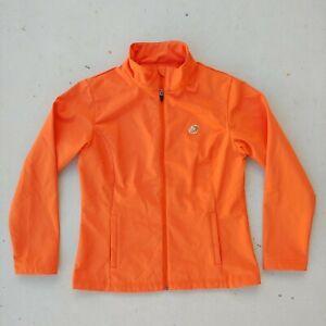Panera To You Orange Employee Zip Fleece Uniform Women Size Small - Rare!