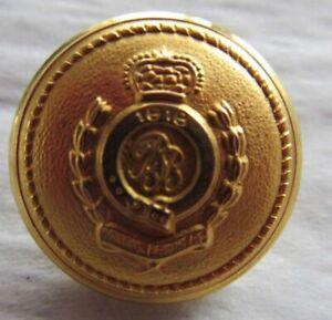 Vintage Brooks Brothers Set of 14 Gold Crest Shank Button Replacement Set Blazer