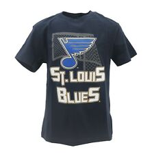 St. Louis Blues Official Nhl Apparel Kids Youth Size T-Shirt New with Tags