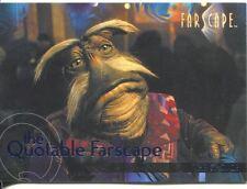 Farscape Season 3 The Quotable Farscape Chase Card Q39