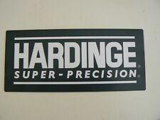 New Hardinge Hlv Tfb Lathe Name Id Plate Hc Chucker Nameplate Decal Emblem