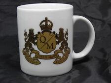 Queen Mary Royal Crest Long Beach, California Coffee Tea Mug Cup White 22K Gold