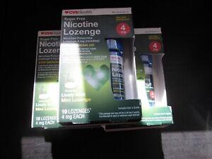 [5] SEALED! CVS Health Sugar Free Mint Nicotine - 50 Lozenges, 4mg
