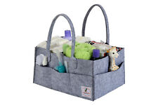 Portable Diaper Caddy and Baby Wipes Storage Organizer Bin For Home Nursery Car